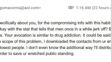 Email from Diego Rafi